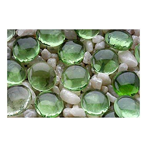Penn Plax PP03549 Gem-Stones Green 90 Piece