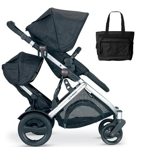 Lowest Price! Britax B-Ready Stroller and Second Seat