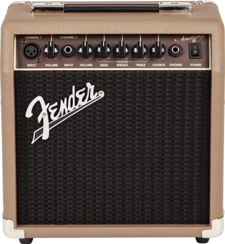 Fender Acoustasonic 15 Acoustic Guitar Combo Amplifier (15 Watts)