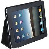 Daffodil IPC850 Étui et support en cuir bycast pour iPad Apple et HP Touchpad - Noir