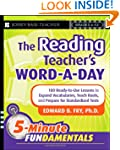 The Reading Teacher's Word-a-Day: 180...