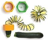 Cucumber Spiral Slicer Vegetable Fruit Salad Cutter