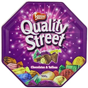 Nestle Quality Street Tin Extra Large, 900 gram Can