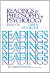 Readings in Philosophy of Psychology,...