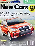 Consumer Reports New Cars Trucks SUV Guide Ratings January 2017, 255 Models