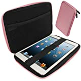 IGadgitz Pink EVA Zipper Travel Hard Case Cover Sleeve for Apple iPad Mini 1st Gen & New 2nd Gen with Retina Display (launched October 2013) Wi-Fi + Cellular LTE 16GB 32GB 64GB 128GB