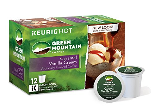 Green Mountain Coffee Caramel Vanilla Cream, Keurig K-Cups, 72 Count (Sugar Free Cocoa Keurig compare prices)
