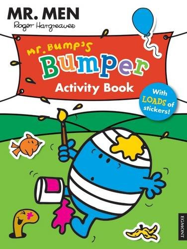 Mr Men: Mr. Bump's Bumper Activity Book