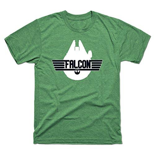 Millennium Falcon Top Gun - Teepublic Male T-Shirt