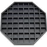"""Coffee Countertop Octagon Drip Tray - 6"""" - Black"""