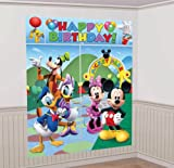 Disney Mickey Mouse Scene Setter Decoration Set (Blue/Green) Party Accessory