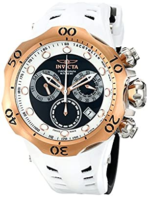 Invicta Men's 16993 Venom Analog Display Swiss Quartz Black Watch