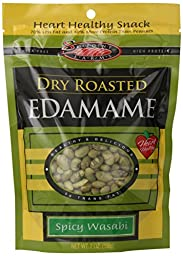 Seapoint Farms Dry Roasted Edmamae, Spicy Wasabi, 7.5 Ounce (Pack of 12)