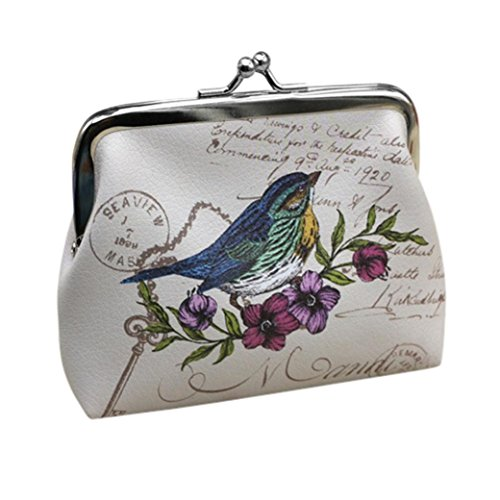 Wallet,toraway Vintage Womens Bird Wallet Card Holder Coin Purse Clutch Handbag (Vintage Coin Purse compare prices)