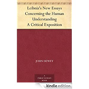 new essays concerning human understanding Find best value and selection for your 1738 locke abridgement of essay concerning human understanding french geneva search on ebay world's leading marketplace.
