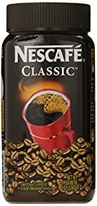 Nescafe Classic Instant Coffee, 8-Ounce Jars (Pack of 3)