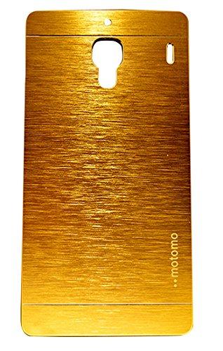 Vcase Motomo Back Case For Xiaomi Redmi 1s- Golden Colour