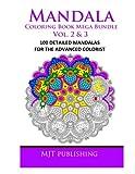 Mandala Coloring Book Mega Bundle Vol. 2 & 3: 100 Detailed Mandala Patterns