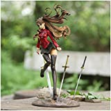 Top Home Hight Quality Fate/stay Night Tohsaka Rin Japanese Anime Detective Pvc Anime Figures Special Collection Cute Exquisite Gift PVC Figure Toy Action Figures Decoration Model Series Game Role Figure Display Toy PVC 9""