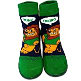 C2BB Baby boys Socks shoes with grippy rubber Lion king Size 21 23