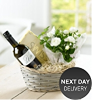 White Wine & Rose Hamper