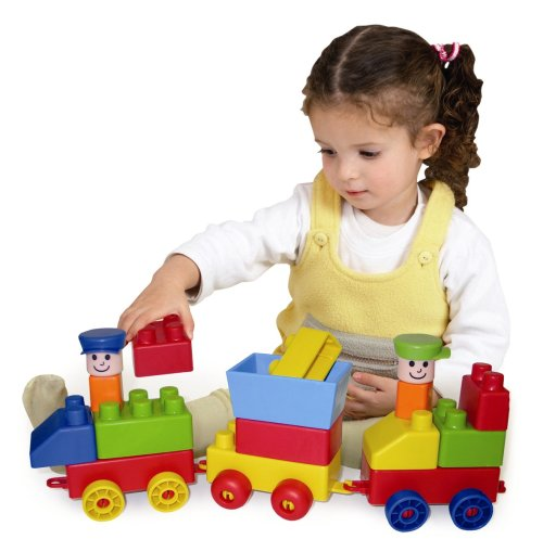 Edushape Mini Edu Train, Set of 30