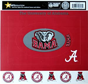 Sports Solution Alabama Crimson Tide Cardstock Frame