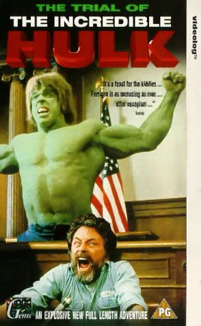 The Trial of the Incredible Hulk [VHS] [Import]