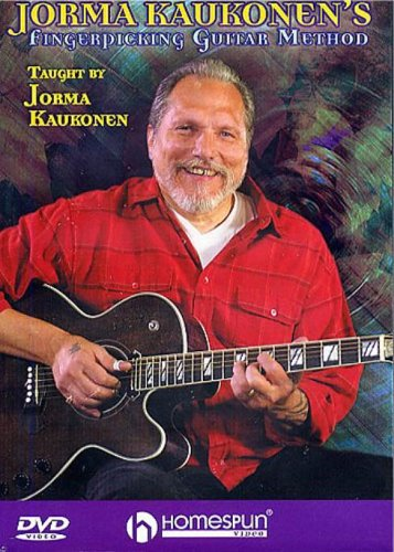 Jorma Kaukonen - Fingerpicking Guitar Method (includes booklet) [DVD]