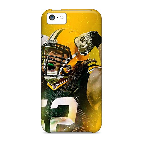 Durable Defender Case For Iphone 5C Tpu Cover(Green Bay Packers)