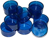 40 BLUE Tealight Candle Moulds Polycarbonate For making tealight candles