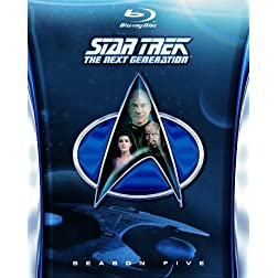 Star Trek: The Next Generation-Season 5 [Blu-ray]