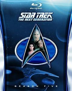 Star Trek: The Next Generation - Season 5 [Blu-ray] [1991] [Region Free]