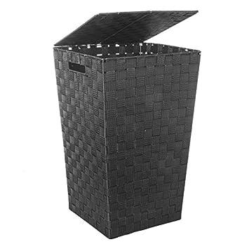 panier linge noir cuisine maison m399. Black Bedroom Furniture Sets. Home Design Ideas