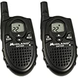 Midland Xtra Talk GXT200 7-Mile 22-Channel FRS/GMRS Two-Way Radio (Pair)