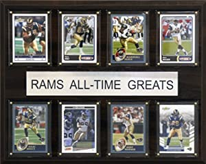 NFL St. Louis Rams All-Time Greats Plaque by C&I Collectables