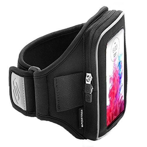Sporteer V1Xl Sport Armband For Lg G3 - M/L (Black)