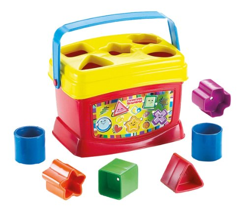 Fisher-Price-Bloques-Infantiles-Con-cubo-transportable-Mattel-21-7167K