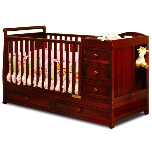 Crib With Storage front-714836