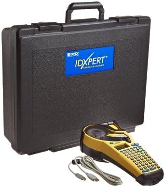 "Brady XPERT-ABC IDXPERT 1.25"" Character Height, ABC Layout, LCD v2.0 Handheld Labeler"