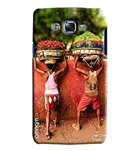Omnam Vegetable Sellers Effect Printed Designer Back Cover Case For Samsung Galaxy J5