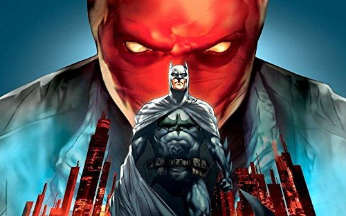 Unknown Travel Batman DC Comics superheroes Bruce Wayne Jason Todd Red Hood 24x36 inch art silk poster Wall Decor (Red Hood Poster Dc compare prices)