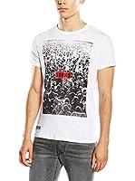 Pepe Jeans London Camiseta Manga Corta Larrabee (Blanco)