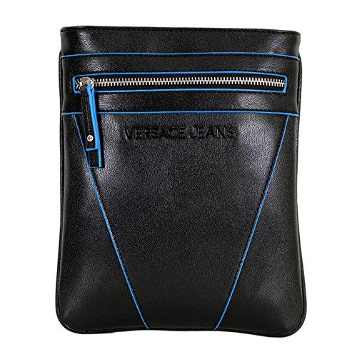 Versace, Borsa a spalla uomo marrone Black, marrone (Black), Taglia unica