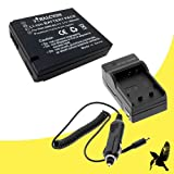 Halcyon 1800 mAH Lithium Ion Replacement Battery and Charger Kit for Leica D-LUX 5, D-LUX 6 Digital Cameras