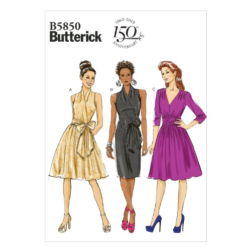 Butterick Patterns B5850 Misses' Dress Sewing Template, Size F5