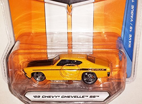 Jada 1:64 Bigtime Muscle '69 Chevy Chevelle SS Yellow #003