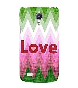 EPICCASE love Mobile Back Case Cover For Samsung Galaxy S4 Mini (Designer Case)
