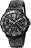 TAG Heuer Men's WAU111D.FT6024 Analog Display Quartz Black Watch
