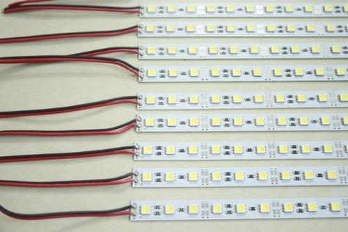 Hkbayi 5M 10Pcs 0.5M 5050 Led 36Leds/0.5M Rigid Hard Led Light Super Bright Led Bar Strip Lights 12V